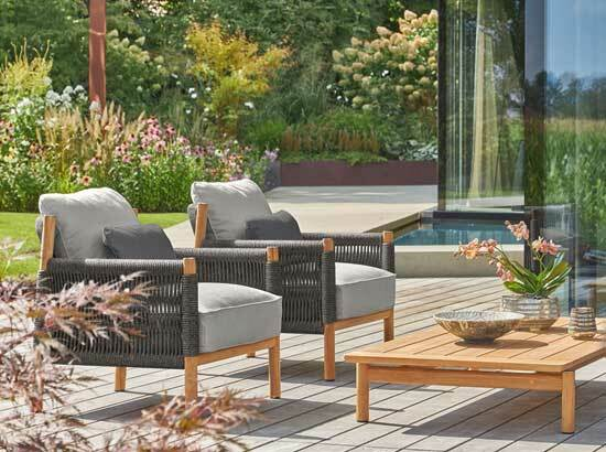 Exclusive garden furniture by Garpa