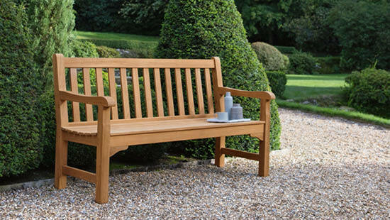 Our Rothesay – a favourite spot: one of our first customers talks about his garden bench