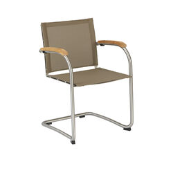 Bolero Stackable Cantilever Chair, Sling