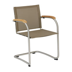 Bolero Cantilever Stackable Chair Sling stackable