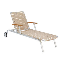 United States Lounger with Armrests