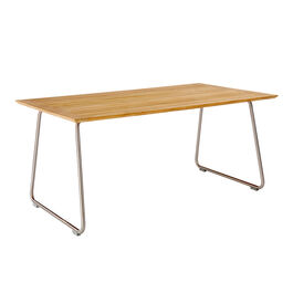 Ronda Sled Base Table 165 x 90, Teak
