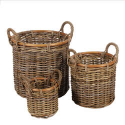 Basket Set, Natural (3 pcs.)
