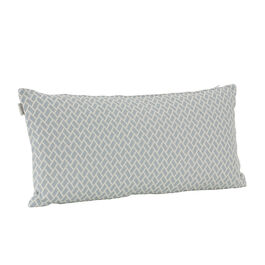Feather Cushion 60 x 30 Rombo Bleu/White