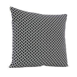 Feather Cushion 50 x 45 Rombo Marine/White