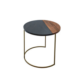 Ewan Side Table bronzed Small