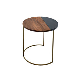 Ewan Side Table bronzed Large