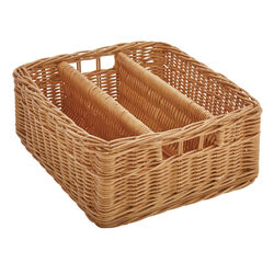 Basket for Tool Cabinet with Three Compartments