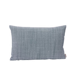Feather Cushion 45 x 30 Indigo