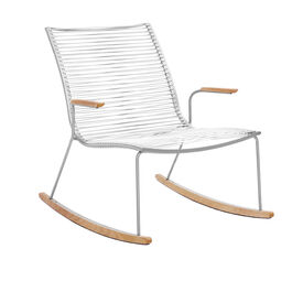 Pan Rocking Chair White