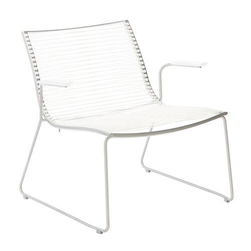 pan armchair with armrests white garpa. Black Bedroom Furniture Sets. Home Design Ideas
