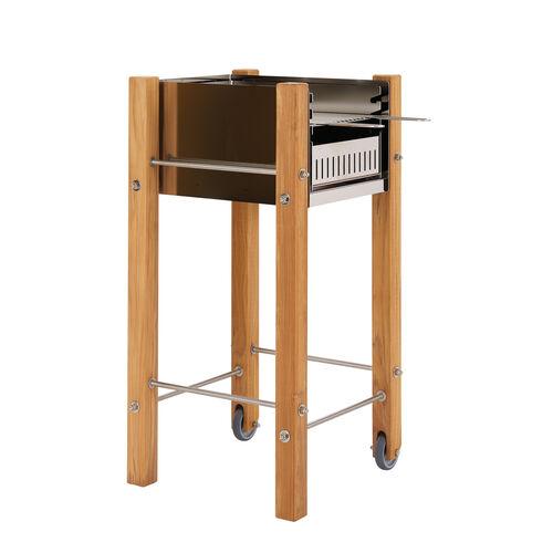 stainless steel teak grill garpa. Black Bedroom Furniture Sets. Home Design Ideas